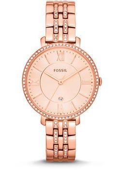 Fossil Часы Fossil ES3546. Коллекция Jacqueline fossil jacqueline es3707