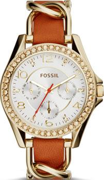 Fossil Часы Fossil ES3723. Коллекция Riley fossil часы fossil es3203 коллекция riley