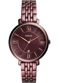 Fossil Часы Fossil ES4100. Коллекция Jacqueline часы fossil fossil fo619dwkuv30