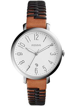 Fossil Часы Fossil ES4208. Коллекция Jacqueline часы fossil fossil fo619dwkuv30