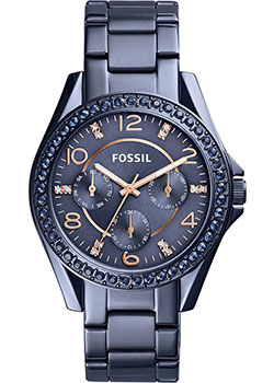 Fossil Часы Fossil ES4294. Коллекция Riley lucinda riley tormiõde