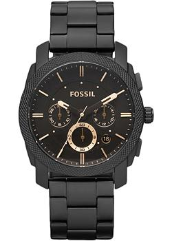 Fossil Часы Fossil FS4682. Коллекция Machine fossil machine fs4487