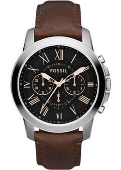 Fossil Часы Fossil FS4813. Коллекция Grant fossil fashion наручные мужские часы fossil fs5107 коллекция grant