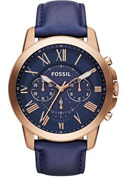 Fossil Часы Fossil FS4835. Коллекция Grant