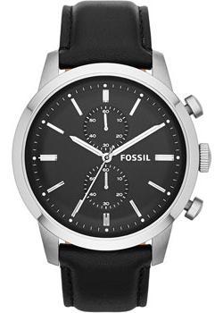 Fossil Часы Fossil FS4866. Коллекция Townsman fossil часы fossil es4196 коллекция idealist