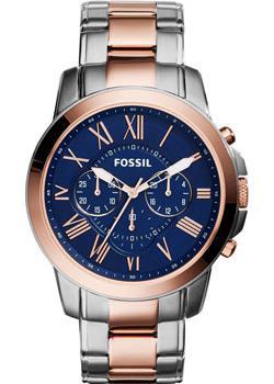 Fossil Часы Fossil FS5024. Коллекция Grant fossil часы fossil fs5214 коллекция grant