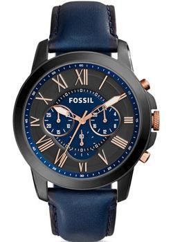 Fossil Часы Fossil FS5061. Коллекция Grant fossil fashion наручные мужские часы fossil fs5107 коллекция grant