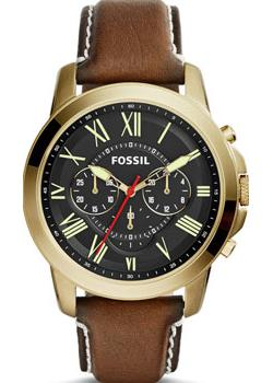 Fossil Часы Fossil FS5062. Коллекция Grant fossil fashion наручные мужские часы fossil fs5107 коллекция grant