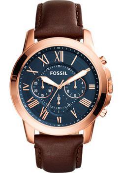 Fossil Часы Fossil FS5068. Коллекция Grant цена