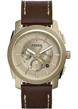 Fossil Часы Fossil FS5075. Коллекция Machine fossil machine fs5075