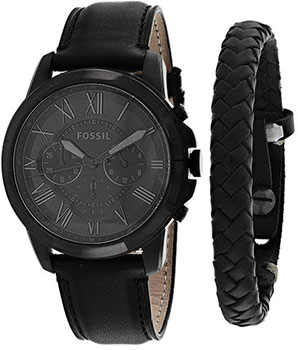 Fossil Часы Fossil FS5147_SET. Коллекция Grant fossil часы fossil fs5214 коллекция grant