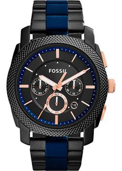 Fossil Часы Fossil FS5164. Коллекция Machine fossil часы fossil fs5170 коллекция machine