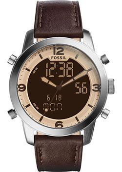 Fossil Часы Fossil FS5173. Коллекция Pilot 54 цена