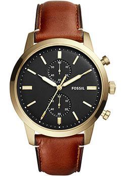 купить Fossil Часы Fossil FS5338. Коллекция Townsman по цене 12400 рублей