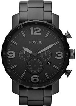 Fossil Часы Fossil JR1401. Коллекция Nate часы fossil jr1390 nate leather watch brown