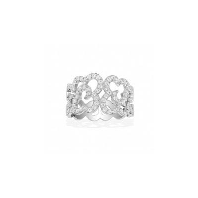 Серебряное кольцо Ювелирное изделие A13822OX кольцо серебро куб цирконий