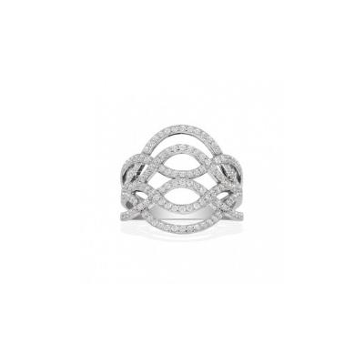 Серебряное кольцо Ювелирное изделие A14124OX кольцо серебро куб цирконий
