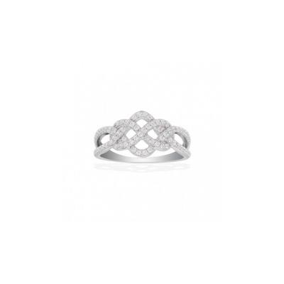 Серебряное кольцо Ювелирное изделие A14126OX кольцо серебро куб цирконий