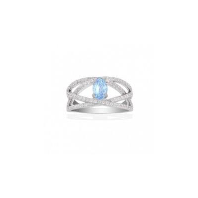 Серебряное кольцо  Ювелирное изделие A14129TB
