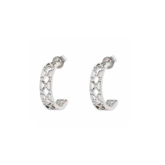 Серебряные серьги Ювелирное изделие AE7029OX серебряные серьги ювелирное изделие 77526