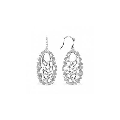 Серебряные серьги Ювелирное изделие AE7315OX