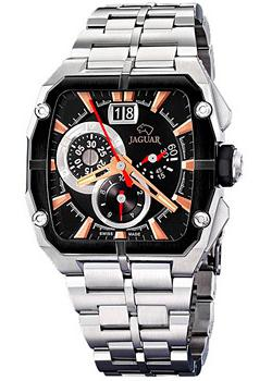 Jaguar Часы Jaguar J636-3. Коллекция Acamar Chronograph switzerland relogio masculino luxury brand wristwatches binger quartz full stainless steel chronograph diver clock bg 0407 3