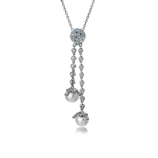 все цены на Серебряное колье Ювелирное изделие NP1139 онлайн