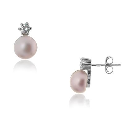 Серебряные серьги Ювелирное изделие NP1176 серьги expression jewelry серебряные серьги пусеты запятые