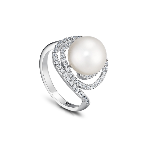 Серебряное кольцо Ювелирное изделие NP1191 женское кольцо infiniti кольцо из ювелирного сплава с цирконами ml01289a 16