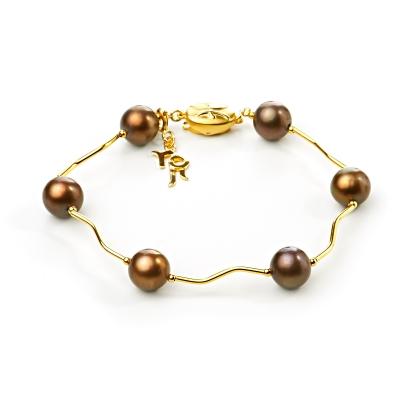 Серебряный браслет Ювелирное изделие NP1564 uribe позолоченный браслет с агатом и лазуритом buzz
