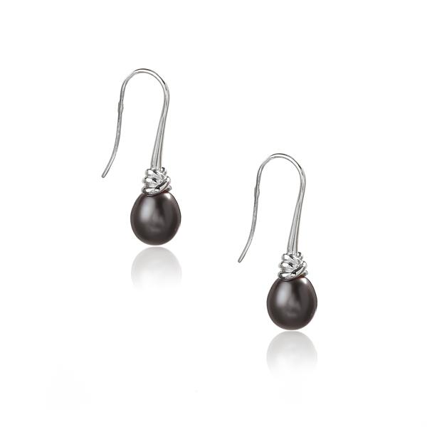 Серебряные серьги Ювелирное изделие NP1570 romanson tl 3535s mc wh
