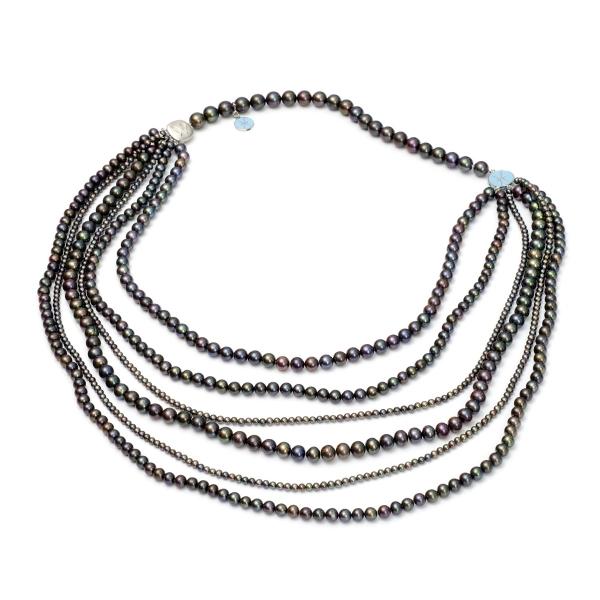 Серебряное колье Ювелирное изделие NP1725