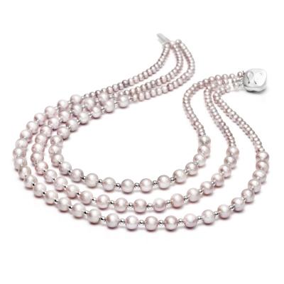 Серебряное колье Ювелирное изделие NP1894 ожерелье other 91828188281821 10mm
