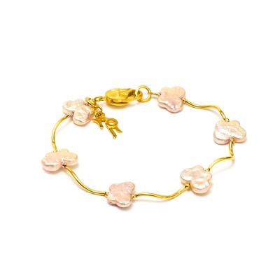 Фото - Серебряный браслет Ювелирное изделие NP2048 serebriciti jewelry позолоченные серьги с каскадами из жемчуга