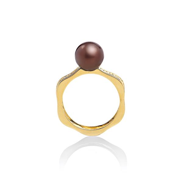 Серебряное кольцо Ювелирное изделие NP2290 женские кольца ti sento женское серебряное кольцо с позолотой и куб циркониями 1835zy 18