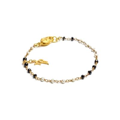 Серебряный браслет Ювелирное изделие NP2499 браслет из сердолика и оникса весенний