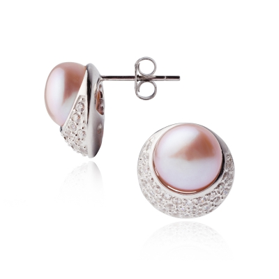Серебряные серьги Ювелирное изделие NP2548 серьги с подвесками jv серебряные серьги с культив жемчугом и куб циркониями gpss 5622 e wp 001 wg