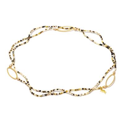 Серебряное колье Ювелирное изделие NP2573 жен ожерелья с подвесками мода этнический перо кофейный красный синий 70cm ожерелье назначение праздники для улицы