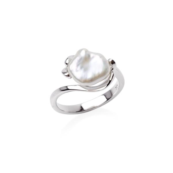 Серебряное кольцо Ювелирное изделие NP2608 женские кольца jv женское серебряное кольцо с куб циркониями f 642r 001 wg 17 5
