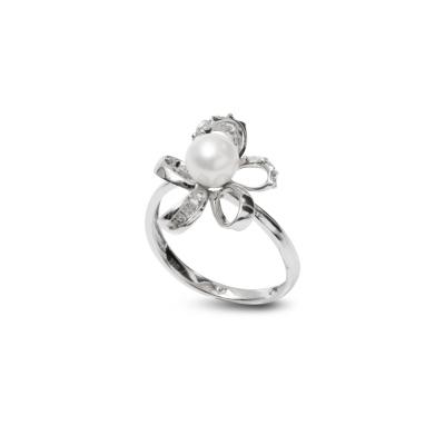 Золотое кольцо Ювелирное изделие NP3427 кольцо эстет женское золотое кольцо с куб циркониями nd1141393 17