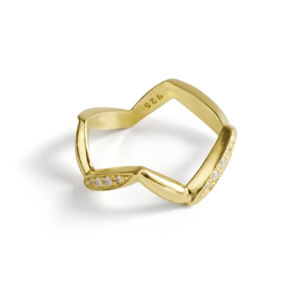 Серебряное кольцо Ювелирное изделие NP3493 женские кольца jv женское серебряное кольцо с куб циркониями f 642r 001 wg 17 5