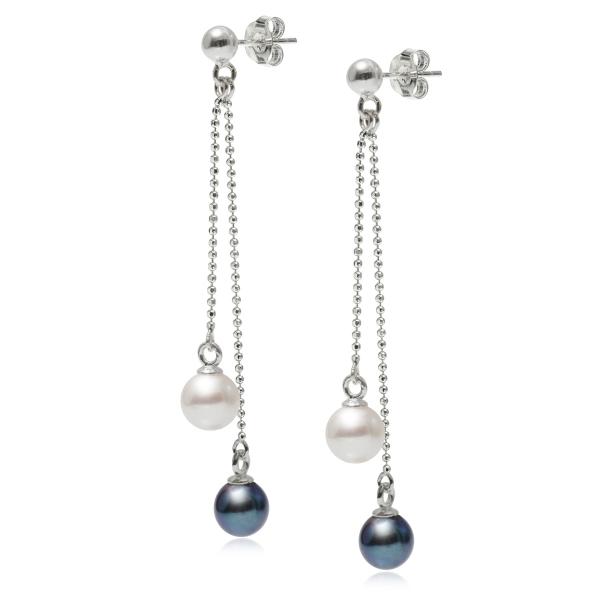 Серебряные серьги Ювелирное изделие NP3606 серьги с подвесками jv серебряные серьги с культив жемчугом и куб циркониями gpss 5622 e wp 001 wg