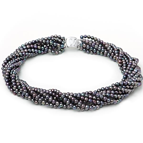Серебряное колье Ювелирное изделие NP576 жен ожерелья с подвесками мода этнический перо кофейный красный синий 70cm ожерелье назначение праздники для улицы