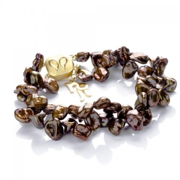 Серебряный браслет Ювелирное изделие NP600 жемчуг кеши в китае