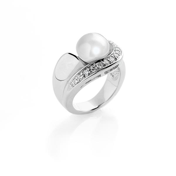 Серебряное кольцо Ювелирное изделие NP913 серова м клад белой акулы