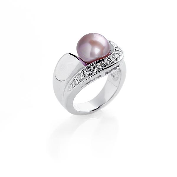 Серебряное кольцо Ювелирное изделие NP915 одеяло лавандового цвета с принтом brums ут 00011835