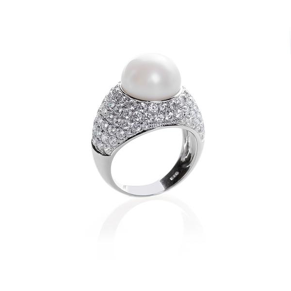 Серебряное кольцо Ювелирное изделие NP916 женские кольца esprit женское серебряное кольцо с цирконами esrg 91386 a 18 5