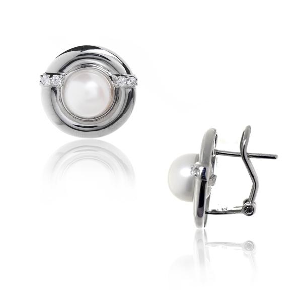 Серебряные серьги Ювелирное изделие NP949 esprit серебряные серьги с цирконами esco 90725 a