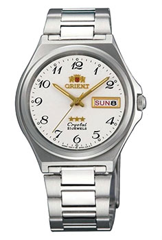 Orient Часы Orient AB02004W. Коллекция Three Star orient часы orient nq05004k коллекция three star