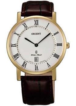 Orient Часы Orient GW0100FW. Коллекция Dressy Elegant Gent's orient часы orient ug0q005s коллекция dressy elegant gent s